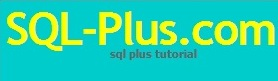 SQLplus Tutorial